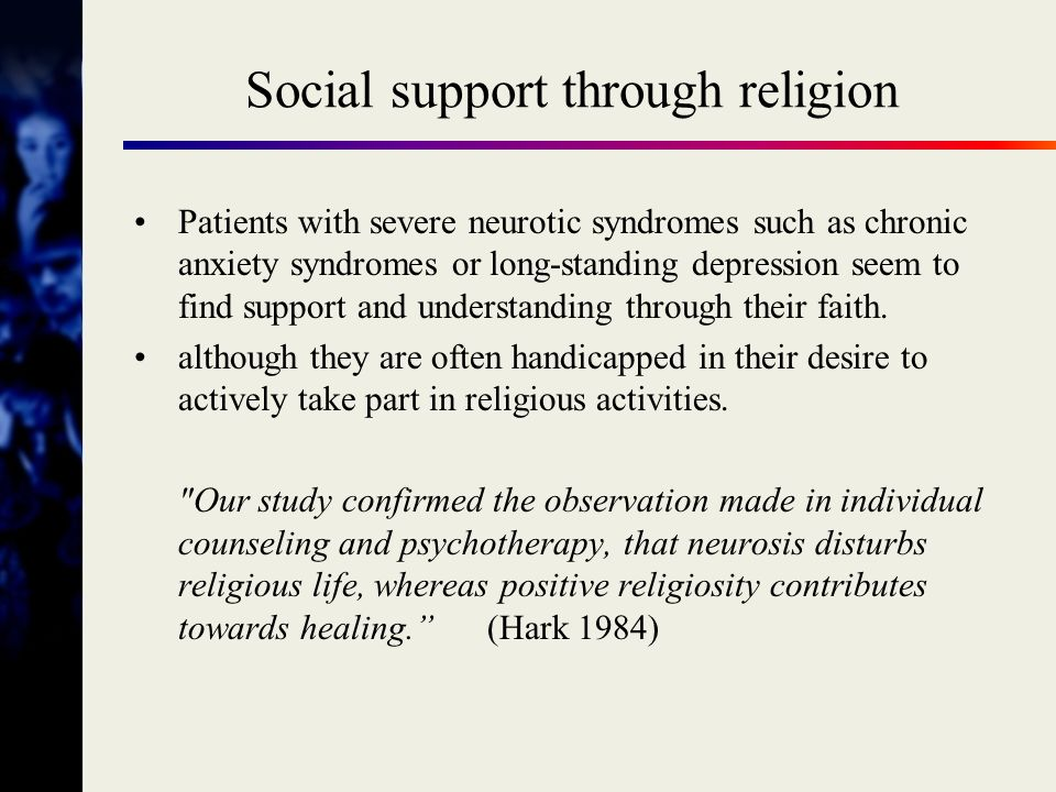Social support through religion