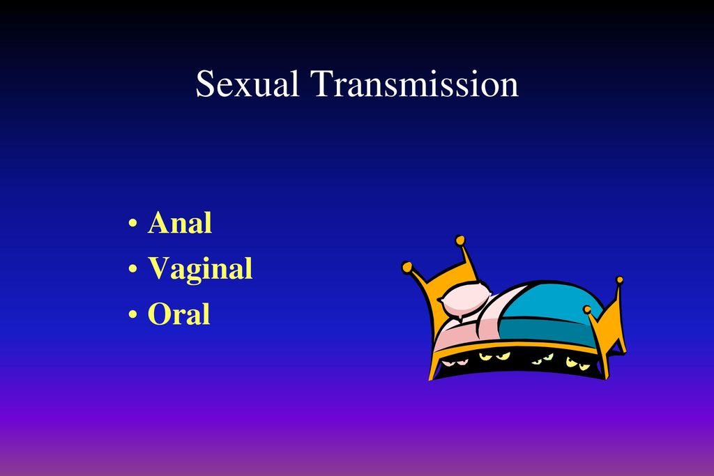جميل sexual transmission of hiv for