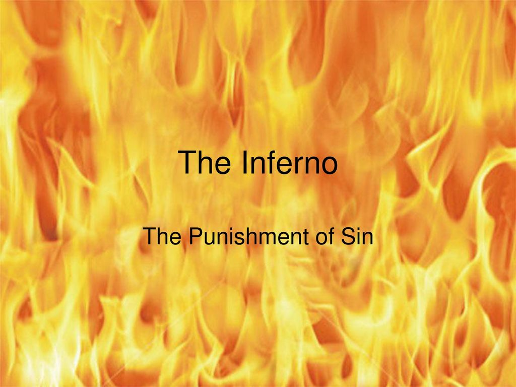 V. The Punishment of Sin