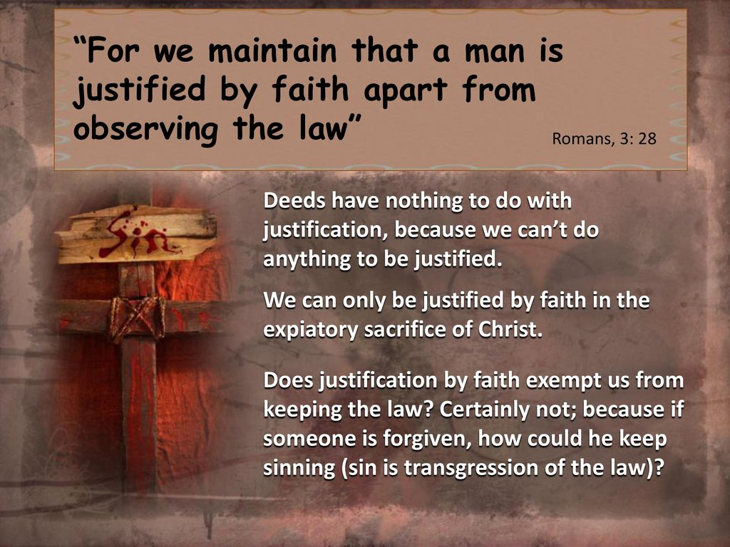 breaking the law can be justified Are we ever morally justified in disobeying laws we consider to be immoral the answer to this question depends very much on our understanding and opinion on the status of the law on this issue it is likely that everyone falls into one of two broad categories.