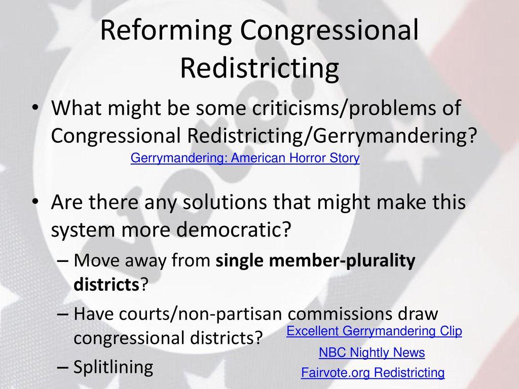 Worksheets Gerrymandering Worksheet voting behavior elections ppt video online download reforming congressional redistricting