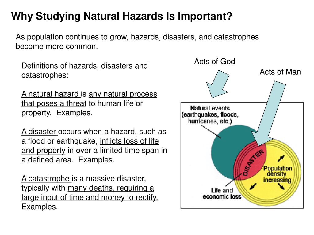 natural hazards and disasters pdf