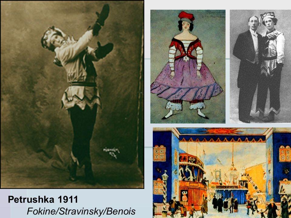 Petrushka 1911 Fokine/Stravinsky/Benois