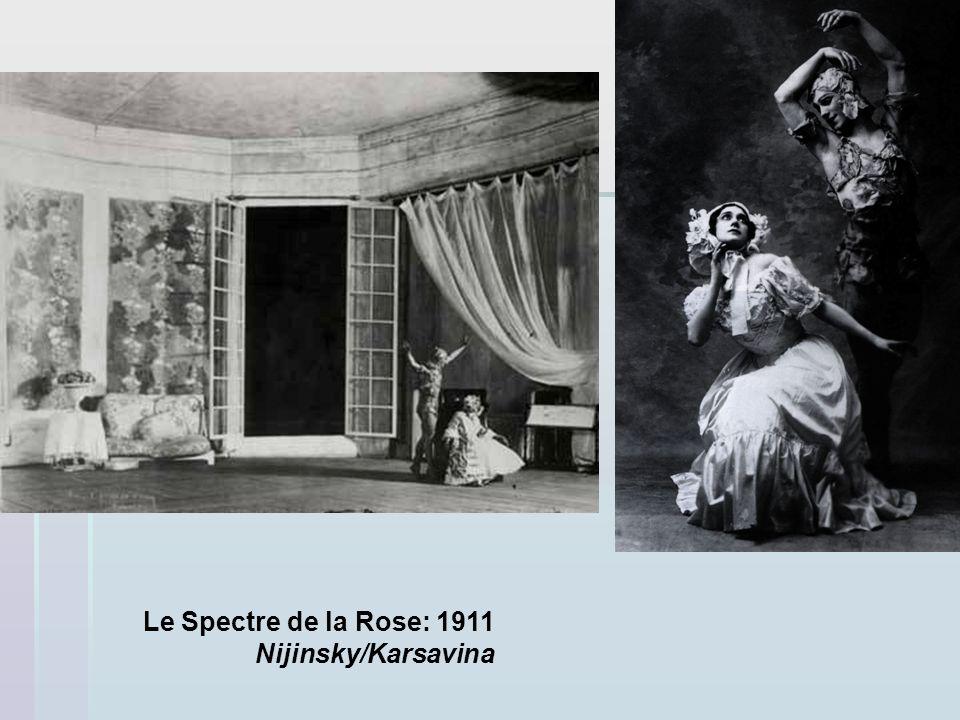Le Spectre de la Rose: 1911 Nijinsky/Karsavina