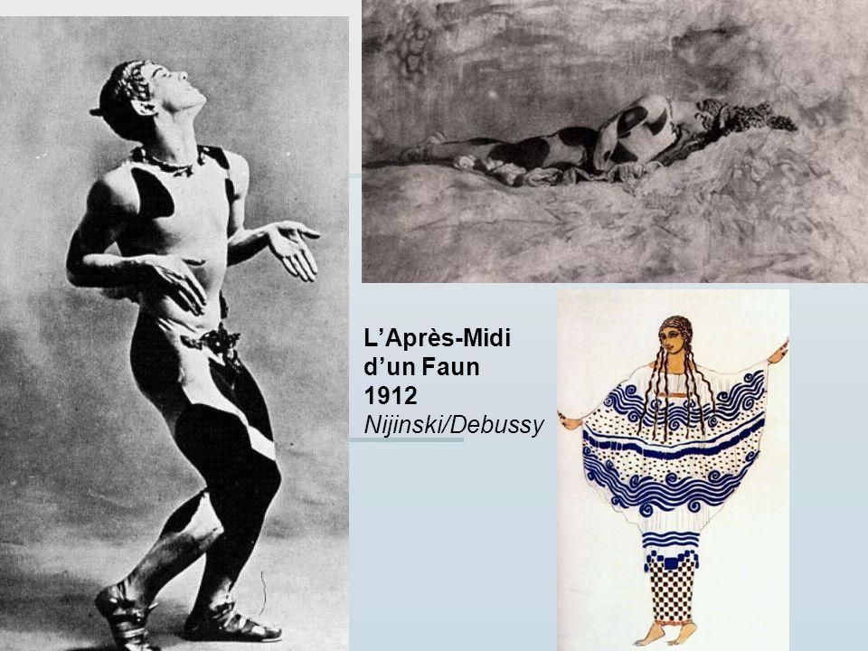L'Après-Midi d'un Faun 1912 Nijinski/Debussy