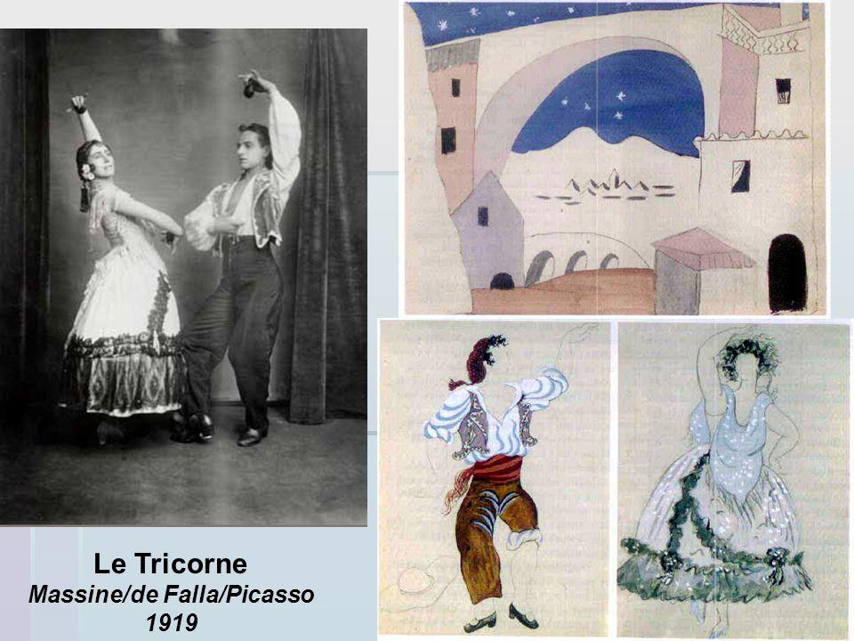 Massine/de Falla/Picasso