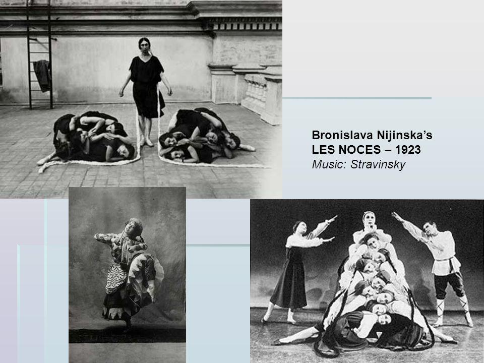 Bronislava Nijinska's