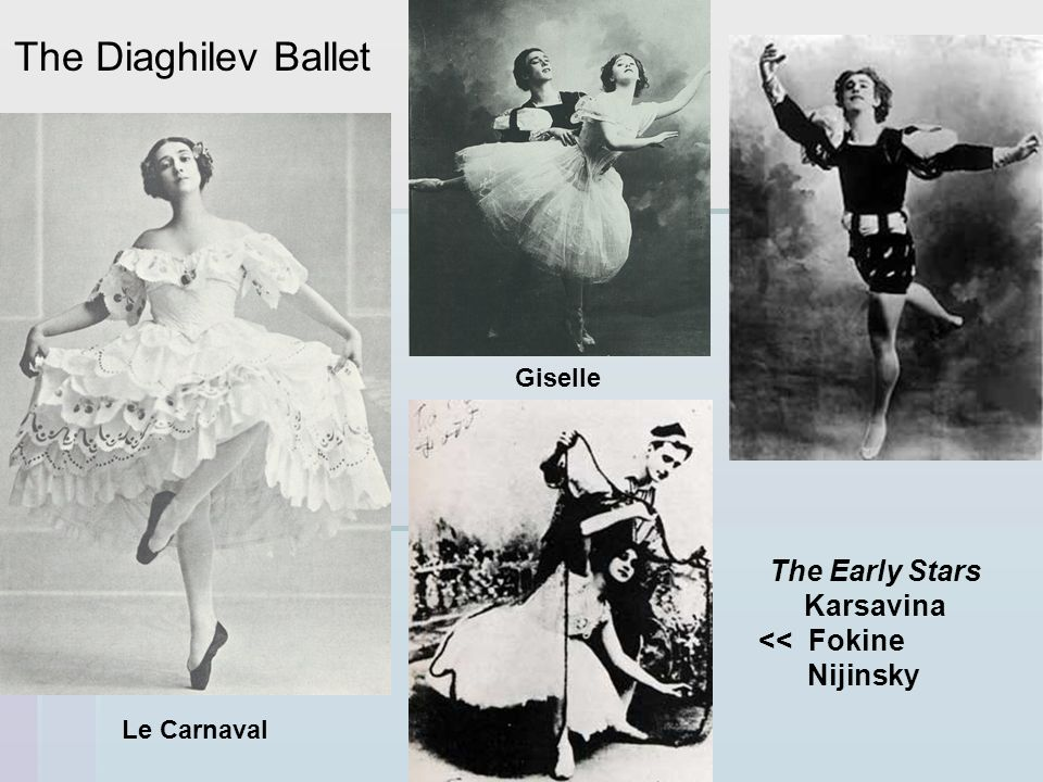 The Diaghilev Ballet The Early Stars Karsavina << Fokine