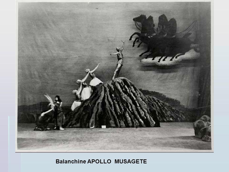 Balanchine APOLLO MUSAGETE
