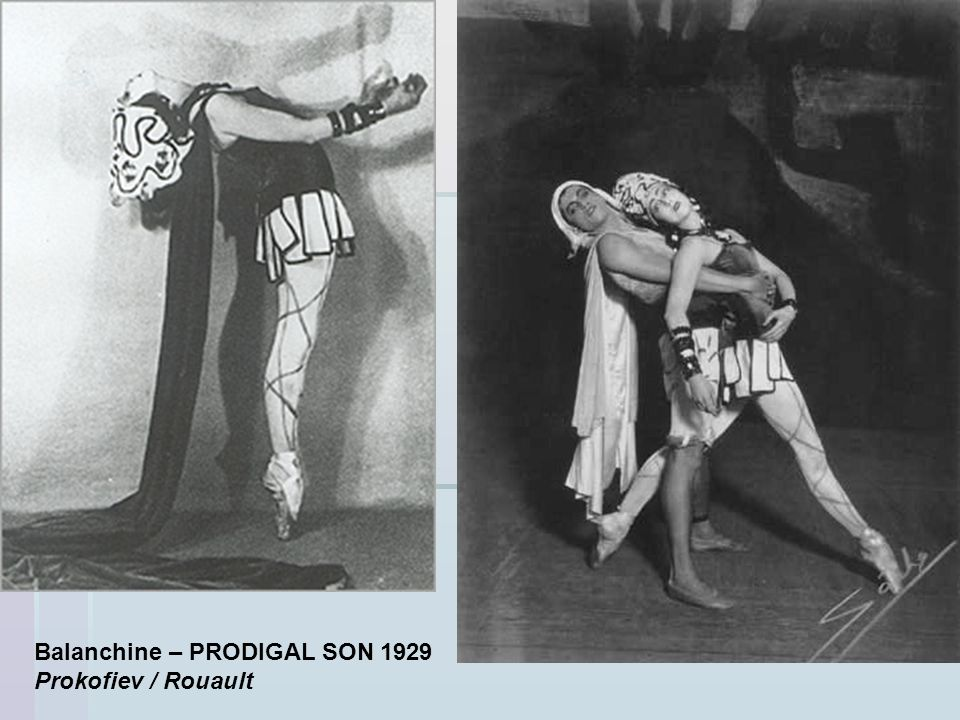 Balanchine – PRODIGAL SON 1929