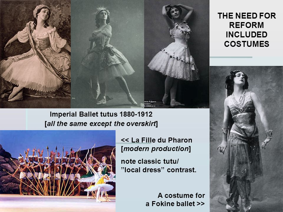 THE NEED FOR REFORM INCLUDED COSTUMES