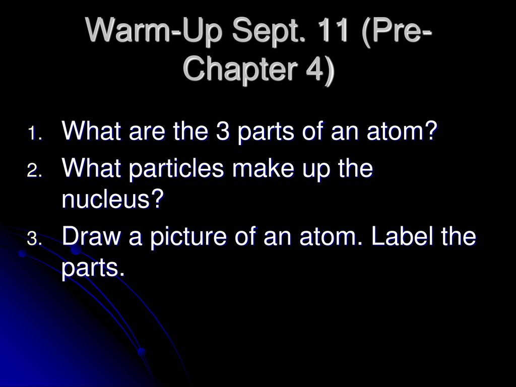 Chapter 4 atomic structure iron atoms ppt download chapter 4 atomic structure iron atoms 2 warm up buycottarizona Image collections