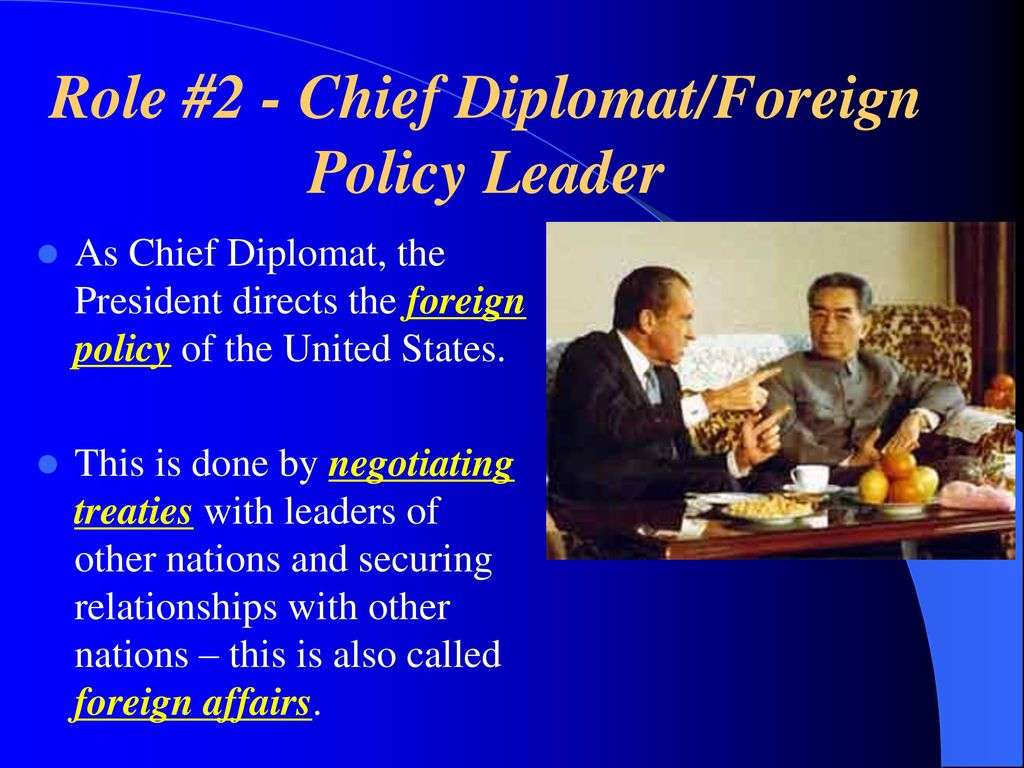 the influence of the president of the united states on foreign policy and foreign affairs of the cou Many other agencies have roles in american foreign and national security affairs they include organizations in the executive office of the president, as well as civilian and  the national security council (rg 273) records of the office of the united states trade  council on international economic policy.