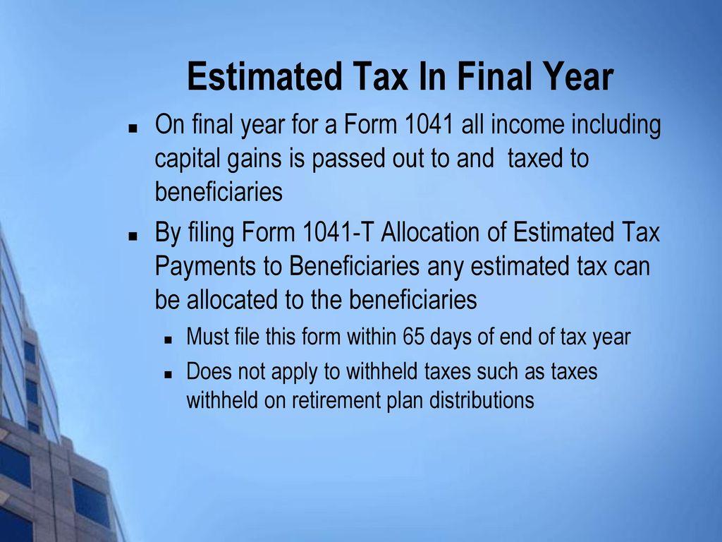Postmortem tax planning ppt download 14 estimated falaconquin