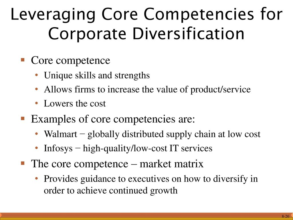 core competence carnival corporation