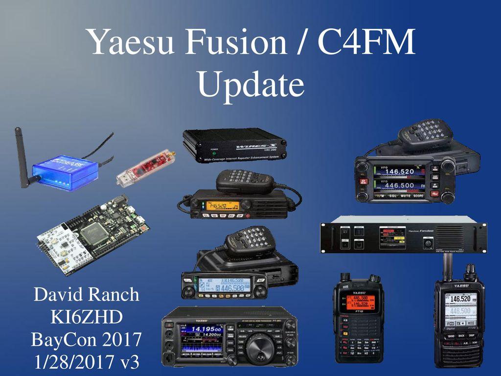 Yaesu Dr1 X To Mmdvm Arduino Wire Diagram Free Download Wiring Online Fusion C4fm Update Ppt Video