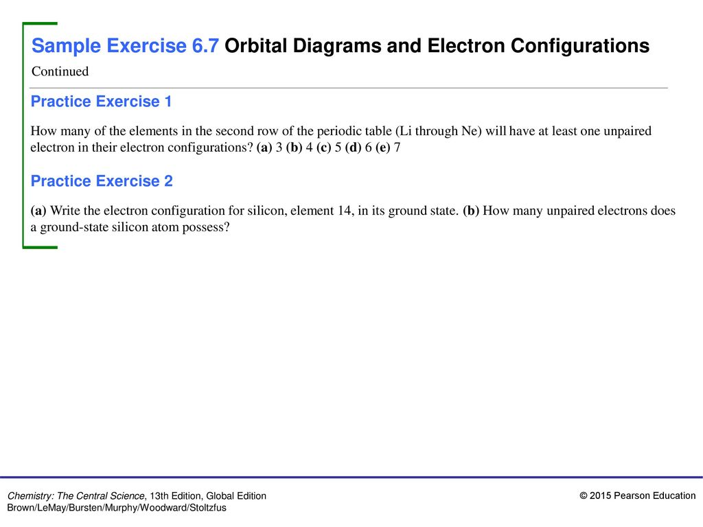 Sample exercise 61 concepts of wavelength and frequency ppt sample exercise 67 orbital diagrams and electron configurations pooptronica Gallery