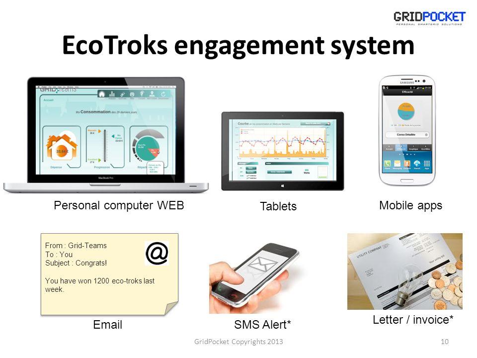 EcoTroks engagement system
