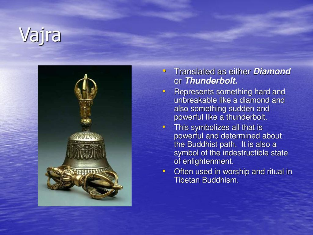 Aim to identify the main symbols used in buddhism ppt download 8 vajra translated buycottarizona Gallery