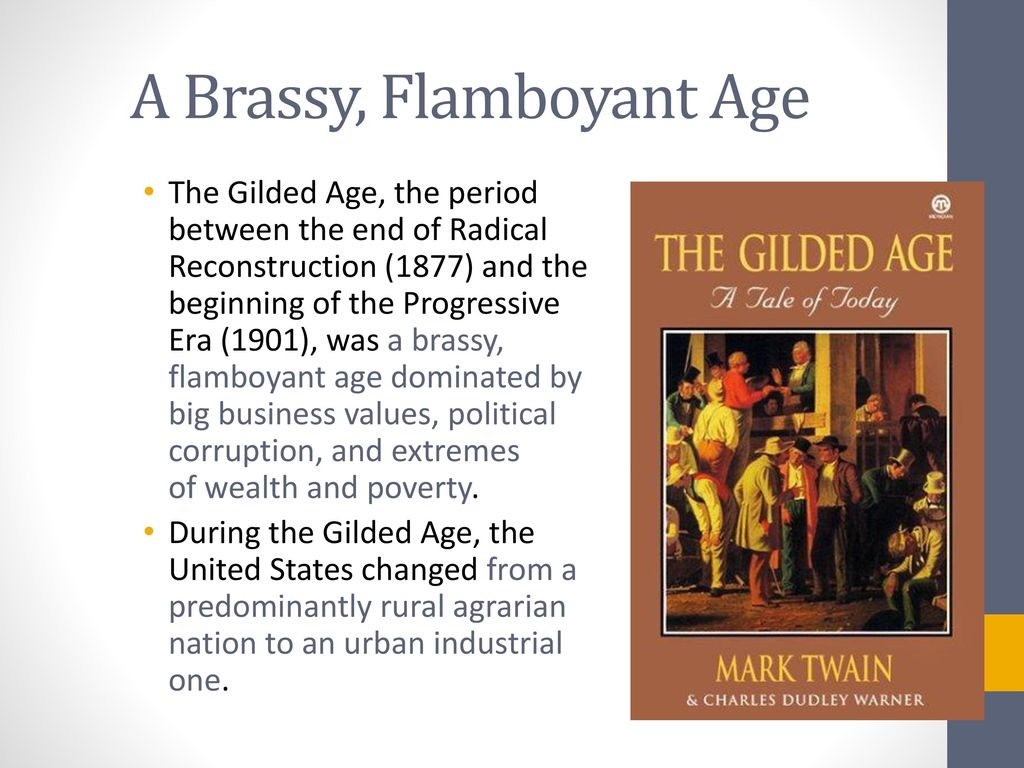 the striking parallels between the gilded age and the silicon age The gilded age by t jackson lears indeed the similarities between then and now are the differences between then and now are equally striking.
