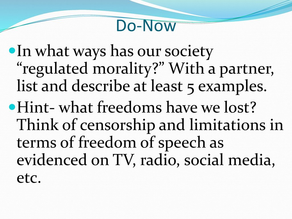 a question of morality in our society That is why morality is so important to society morality does not get its importance because a gray bearded man is standing on a cloud and directing our lives morality is important to us because.