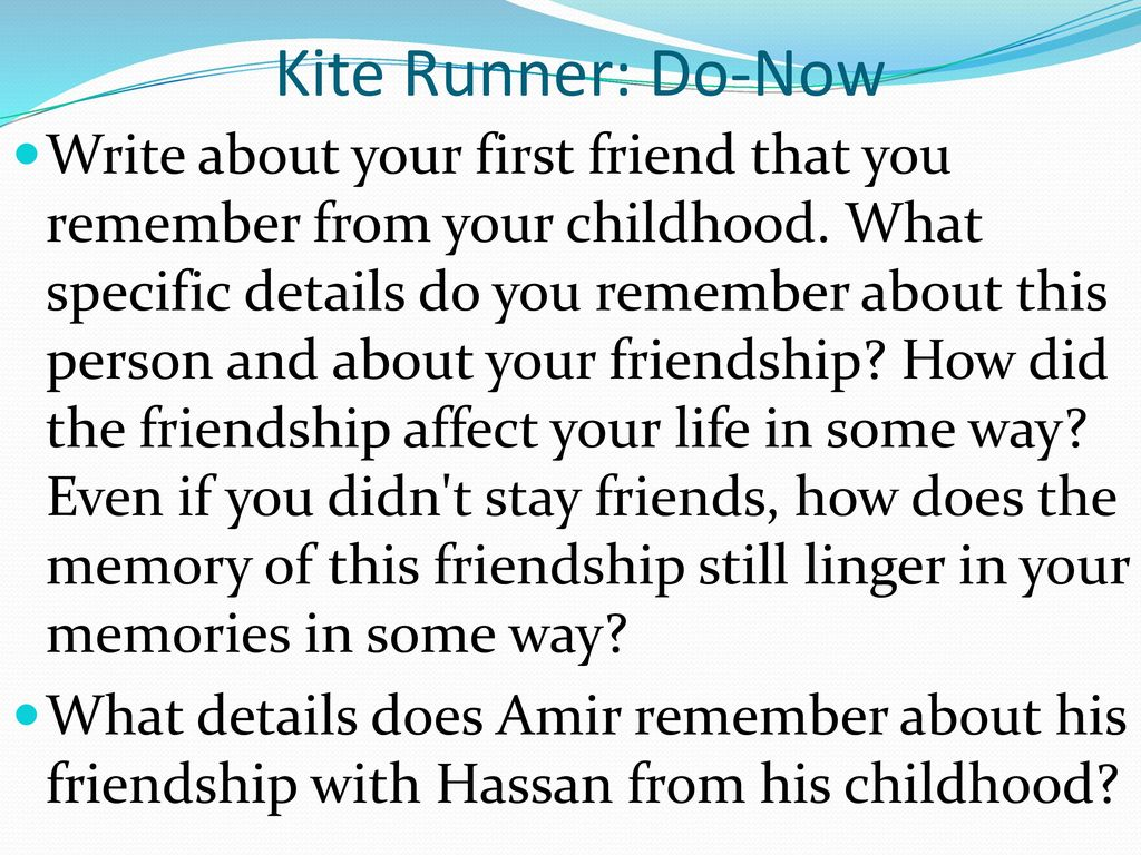 the kite runner 24 essay The kite runner chapter 24 summary brief summary of chapter 24 in the kite runner book.