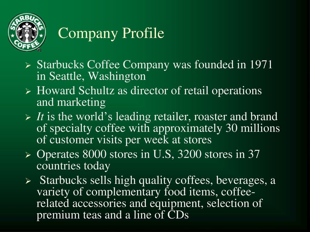 starbucks company overview Starbucks #181 on the forbes canada's best employers list.