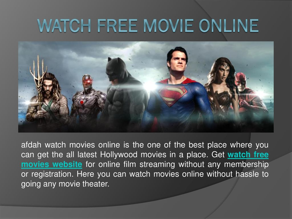 website where you can watch movies for free without downloading or signing up