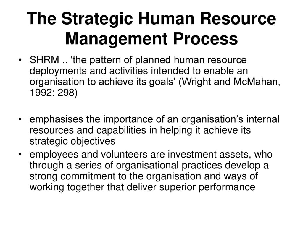 importance of strategic human resource management in tesco Hrm at tesco table of contents  tesco has high importance for employee motivation in their human resource policy and  strategic human resource management, sage.