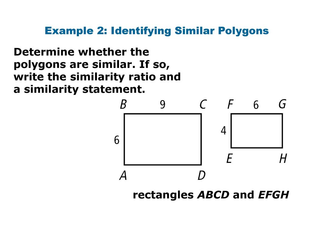 worksheet Similar Polygons Worksheet ratios in similar polygons ppt video online download example 2 identifying polygons
