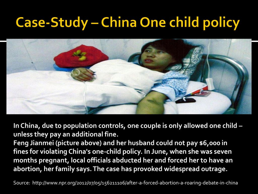 ethical issues of chinas one child policy Environmental issues were not necessarily at the top of china's list of concerns when it introduced the one-child policy rather, the leadership's primary concern was to ensure that rapid population growth would not jeopardize the country's ambitious plans for economic development.
