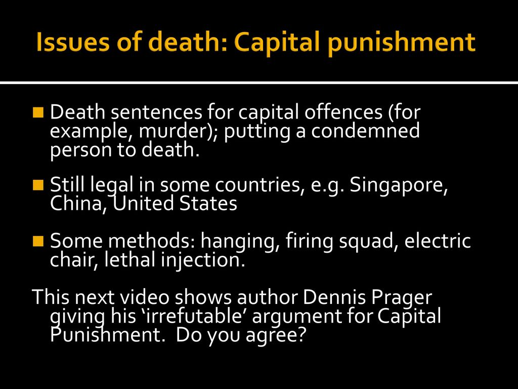 an introduction to the issue of death penalty in the united states Texas remains the strictest applicant of the us death penalty but its decline   meanwhile, the 2005 introduction in texas courts of life without.