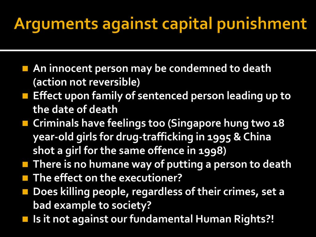 capital punishment is as old as civilization itself The death penalty is as old as the concept of justice itself and surely older than such punishments as jail sentences or financial reparations one can argue the relative pros and cons of putting men to death for years and it will remain the kind of hot-button issue that likely has no right or wrong.