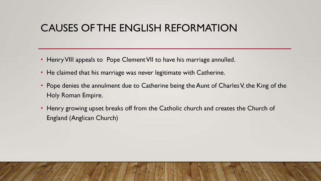 why did henry viii create church england