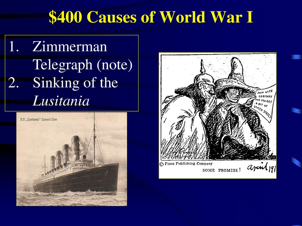 a look at the causes of world war i A detailed timeline outlining the causes of world war 1.