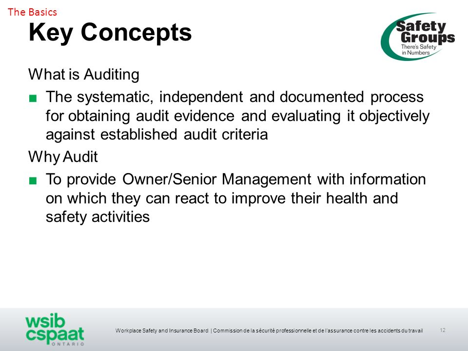 Key Concepts What is Auditing