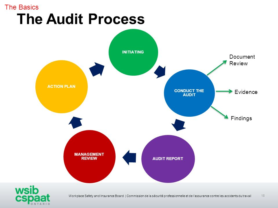 The Audit Process The Basics Document Review Evidence Findings