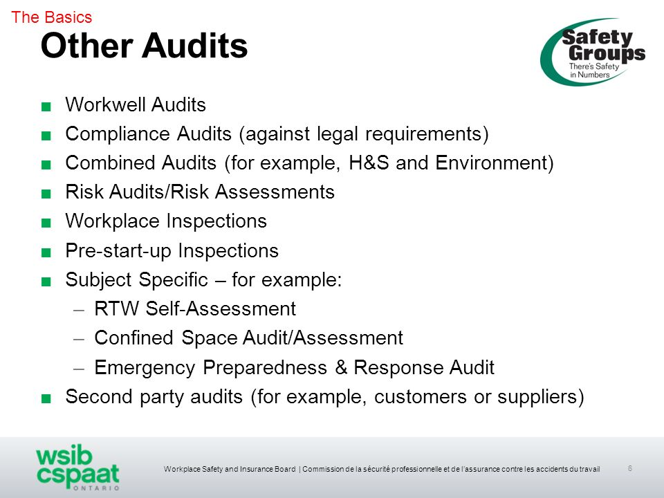 Other Audits Workwell Audits