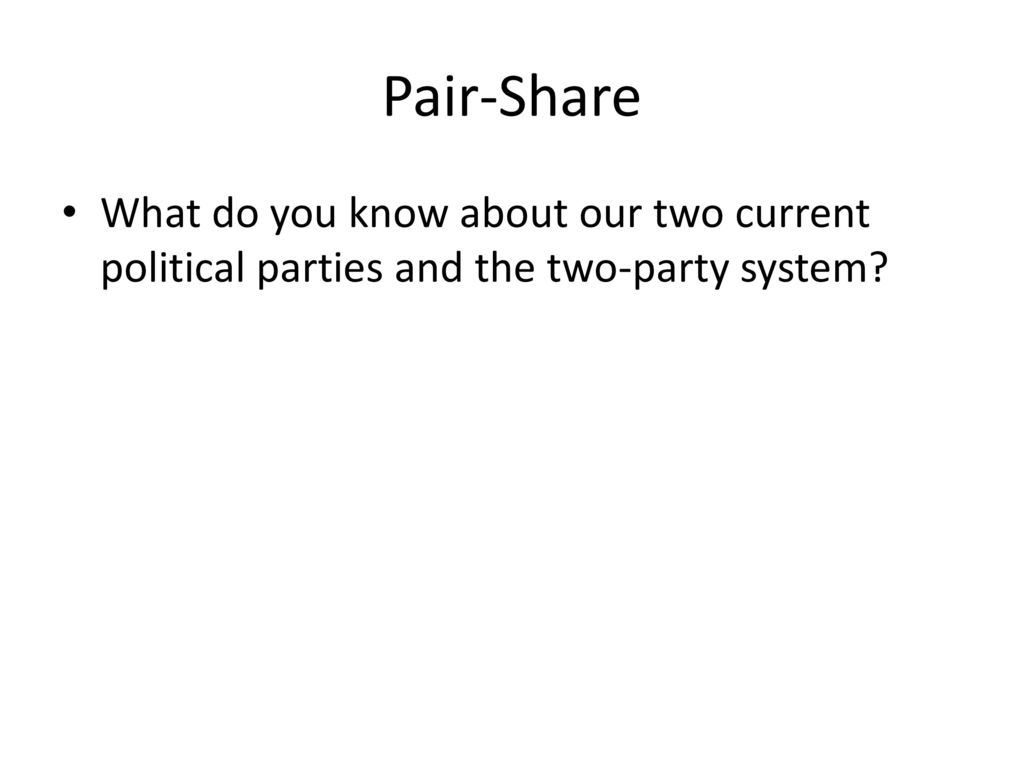 the existing problems in political parties Political parties are a core ingredient of representative democracy  waning of  organized parties is blamed for a host of problems, ranging from greater  to  realize that the current system is not enough, especially in an era.