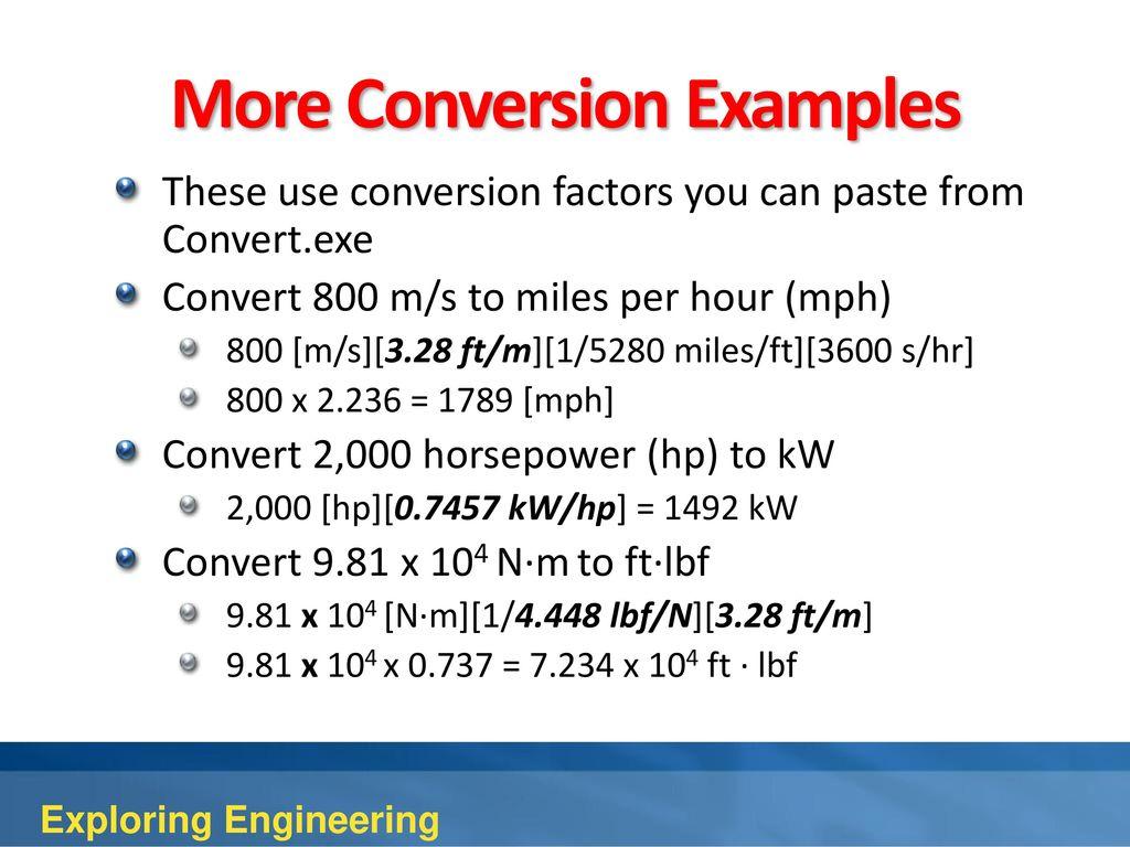 conversion ft en m