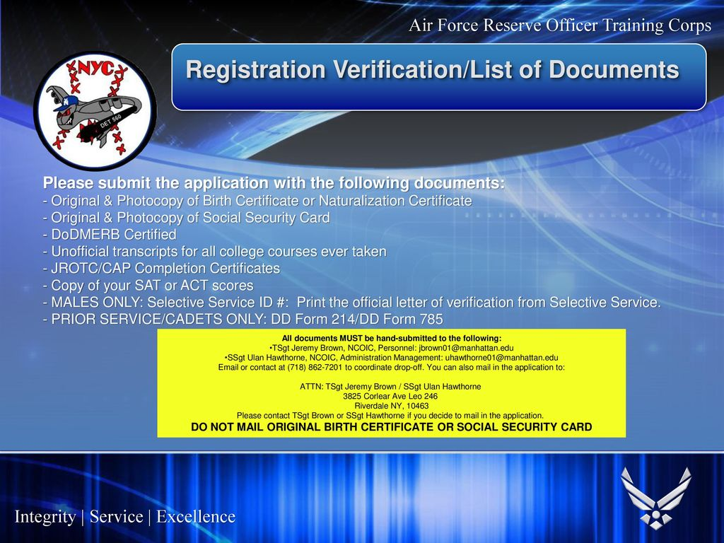 Air force commissioning program ppt download 15 registration 1betcityfo Images