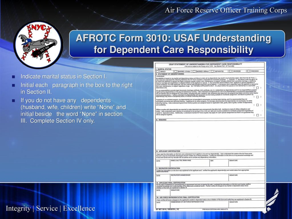 Air Force Commissioning Program Ppt Download