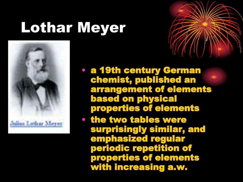 Julius lothar meyer contribution to the periodic table gallery lothar meyer periodic table gallery periodic table images periodic table and trends ppt download 4 lothar gamestrikefo Image collections