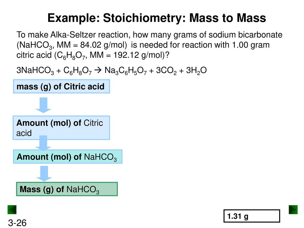 how to find mass of reactant needed to react completely