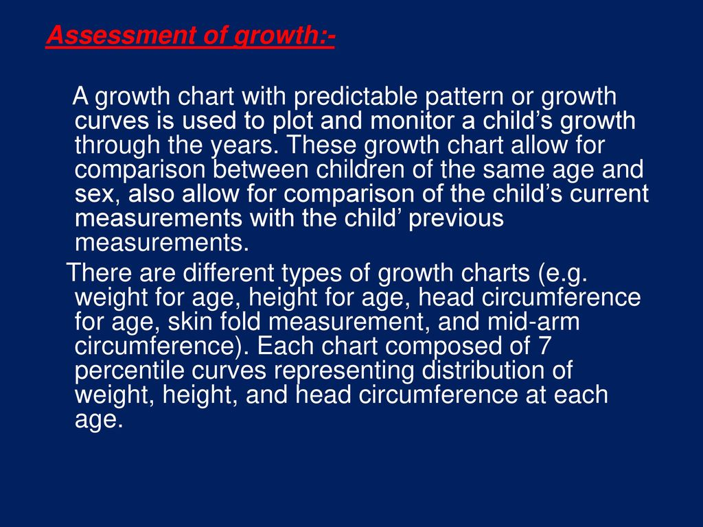 Growth and development ppt download assessment of growth a growth chart with predictable pattern or growth curves is used geenschuldenfo Image collections