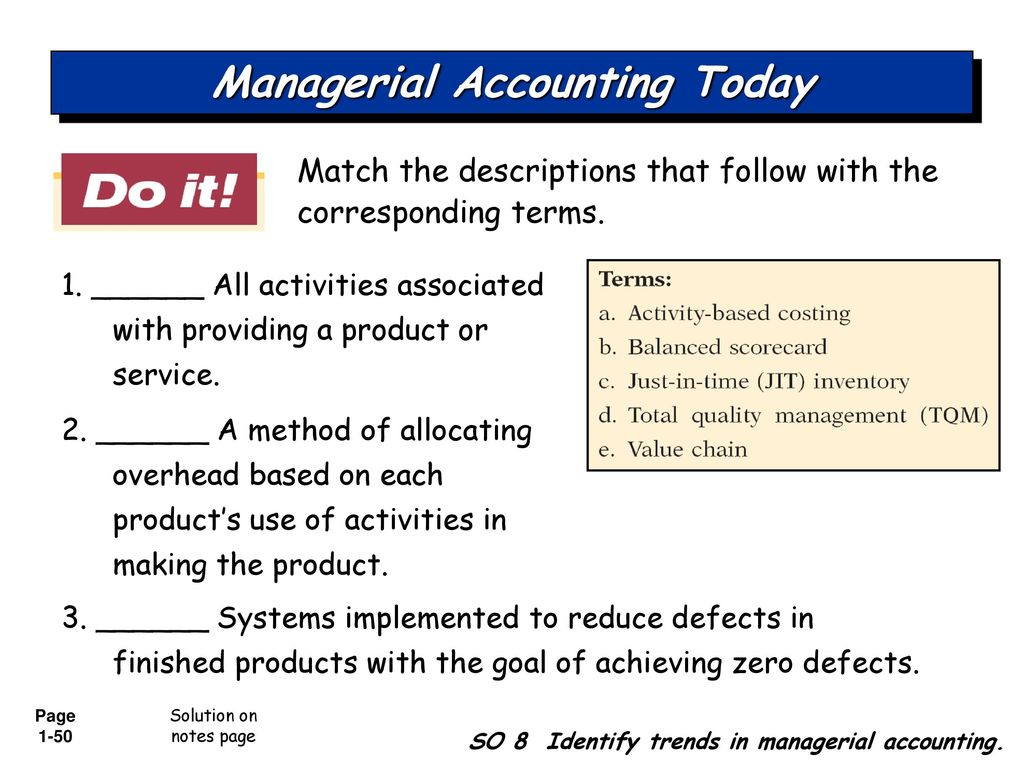 managerial accounting solution chapter 5