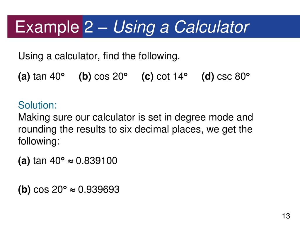 how to find tan 60 degrees on calculator