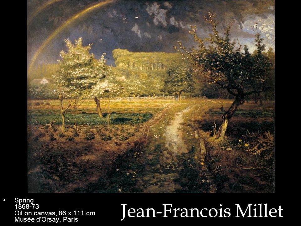 Spring 1868-73 Oil on canvas, 86 x 111 cm Musée d Orsay, Paris