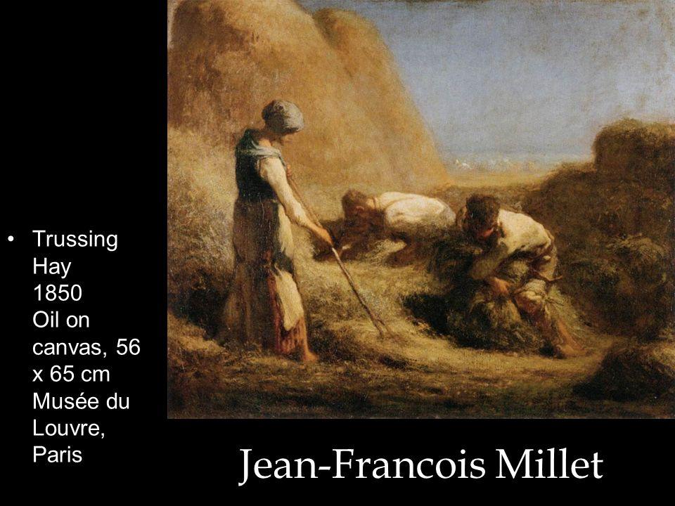 Trussing Hay 1850 Oil on canvas, 56 x 65 cm Musée du Louvre, Paris