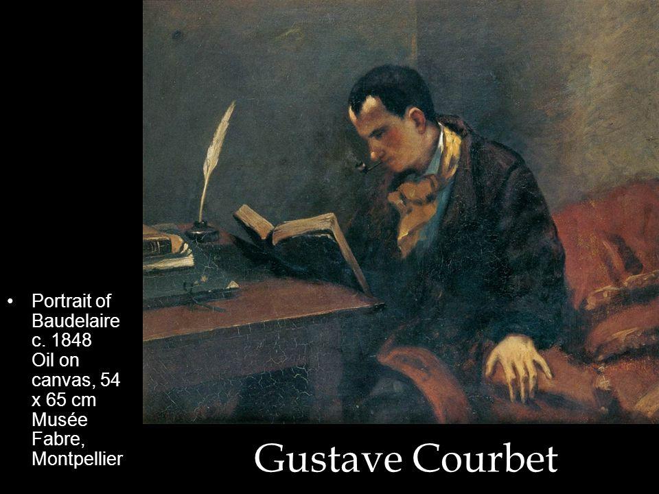 Portrait of Baudelaire c